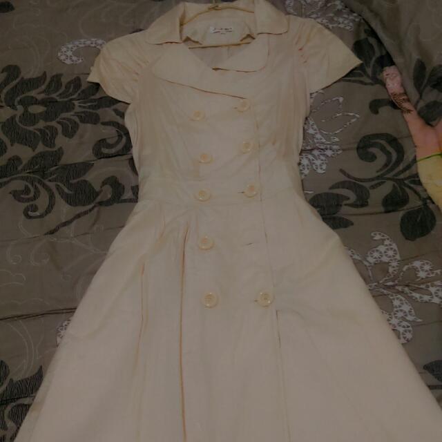 全新綁帶長洋裝