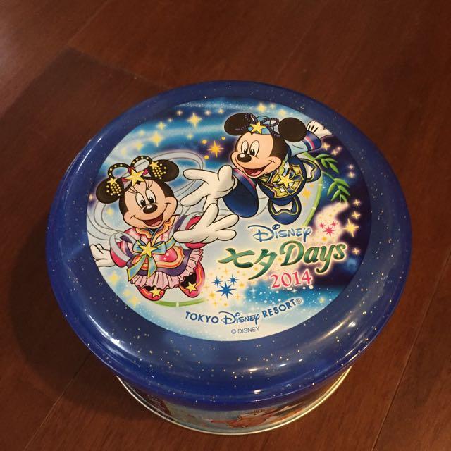 香港迪士尼 鐵盒(含運)