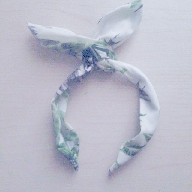 <免運>椰子樹髮帶 髮箍