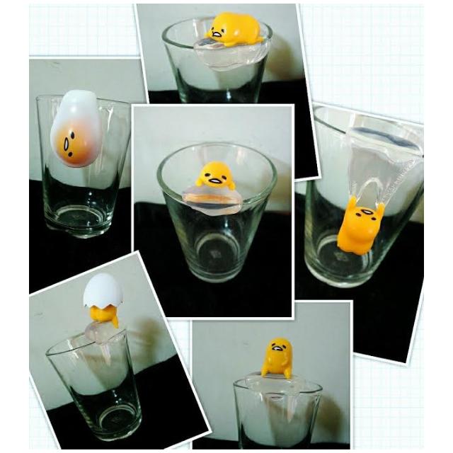 (SOLD OUT)蛋黃哥 杯緣子 扭蛋 全套6款 含運