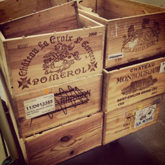 徵收 紅酒箱 木箱 酒箱