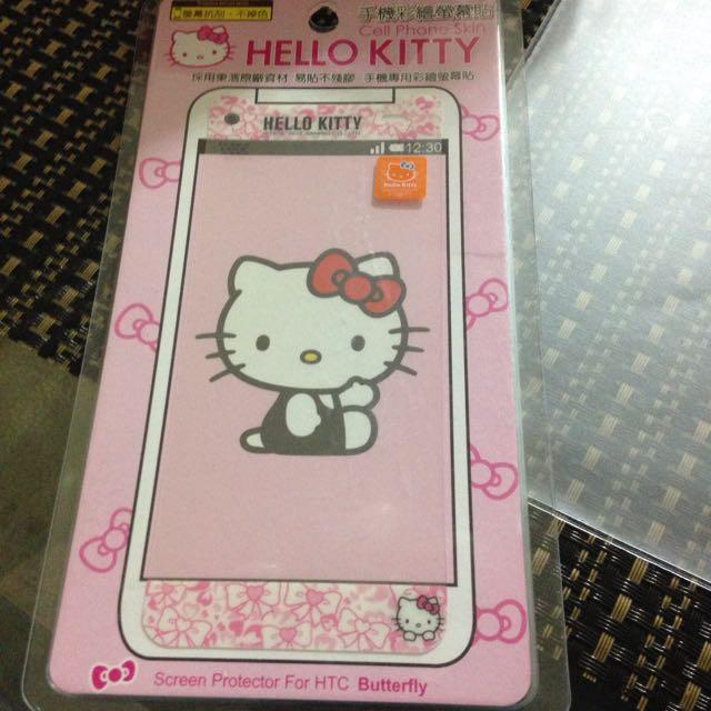 蝴蝶機 Kitty螢幕保護貼