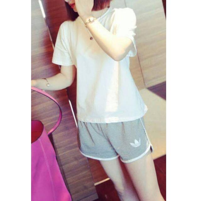 【Adidas】女生上衣+褲子,全套休閒運動裝!─ 翻印系列