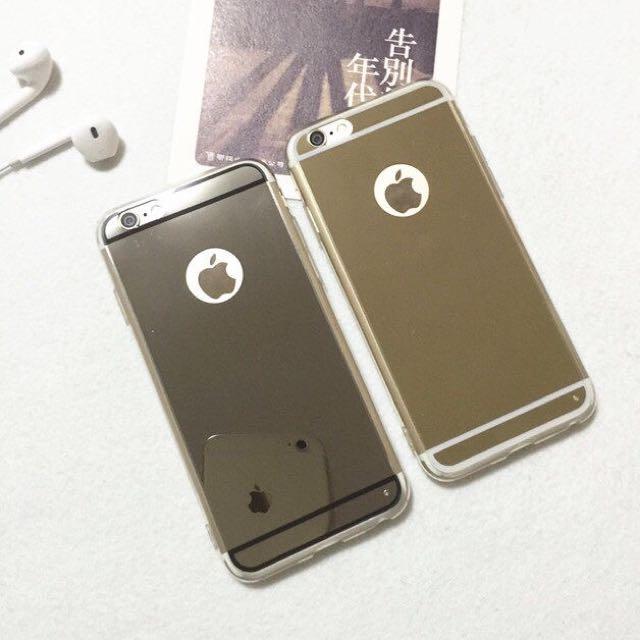 全新iPhone 6 i6 鏡面手機殼(銀)
