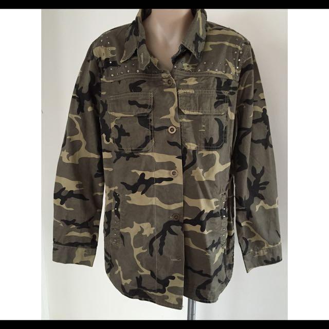 Sass Camo Jacket