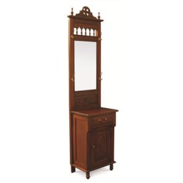 Teak Singapore French Vanity Table With Mirror Furniture Small Dressing On Carou