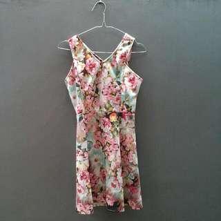 CERISE Pink Floral Dress