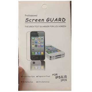 Iphone5保護貼