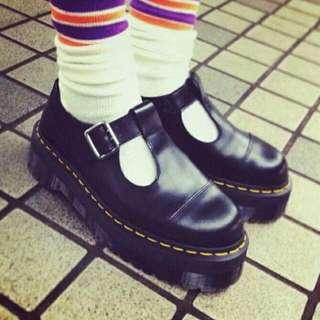 (二手)Dr.Martens 馬丁鞋 馬汀鞋 同款 T字鞋 娃娃鞋 大頭鞋