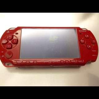 PSP 亮紅