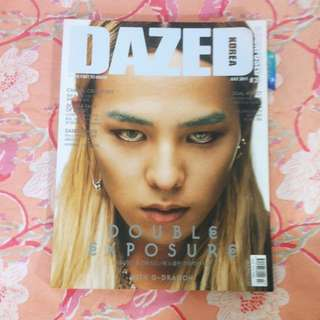/雜誌/Dazed Korea July 2011 GD封面