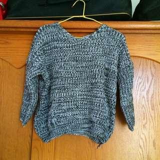 📦Heartbeat短版厚針織毛衣