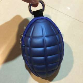 手榴彈造型零錢 鑰匙包