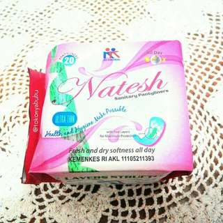 Natesh Sanitary Pantyliner With Magnetic