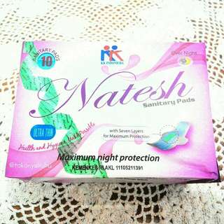 Natesh Sanitary Pad Over Night With Magnetic