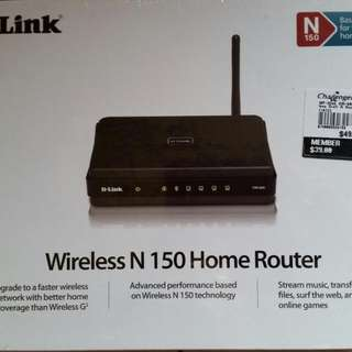 D-LINK Wireless Home Router - NEW