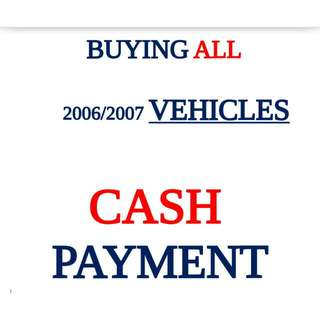 Buying All 2006/2007 Vehicles
