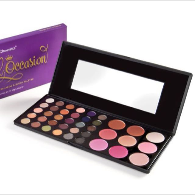 🇺🇸美國彩妝 BH cosmetics 39色眼影腮紅盤39 Color Special Occasion Eyeshadow and Blush Palette