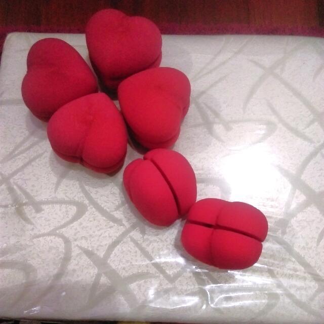心型海綿捲髮器