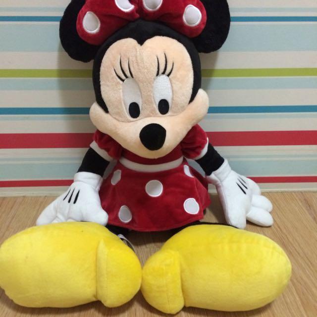 迪士尼米妮玩偶