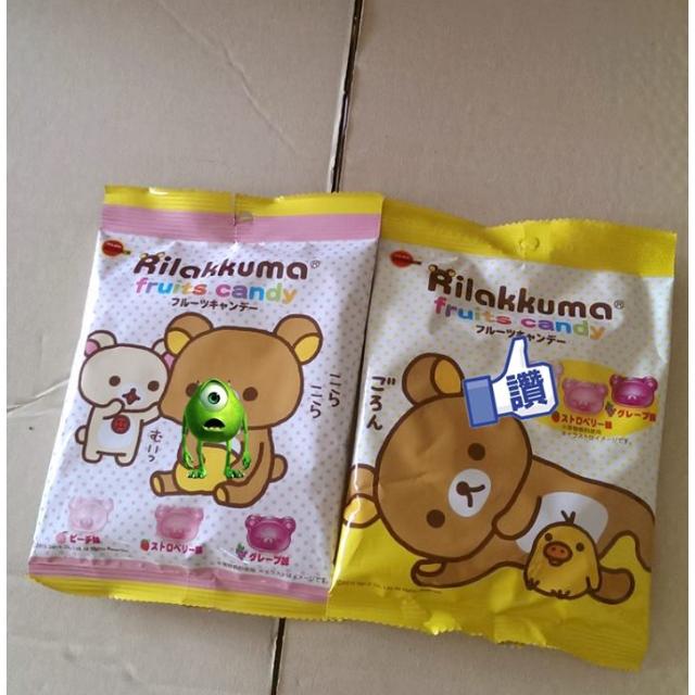 拉拉熊造型水果糖