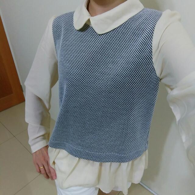 氣質雪紡上衣