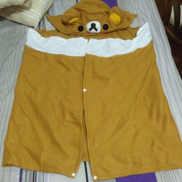 (全新)拉拉熊懶人毯