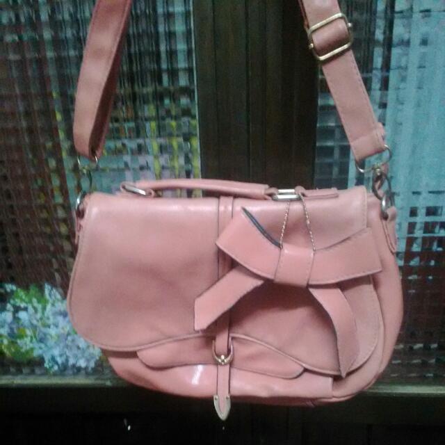 可換物/粉色肩背包