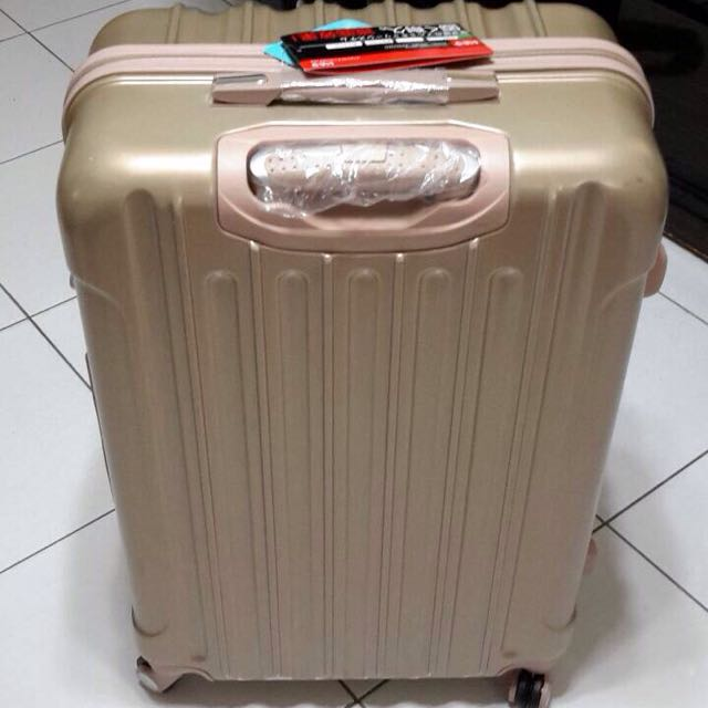 日牌 28寸金色行李箱