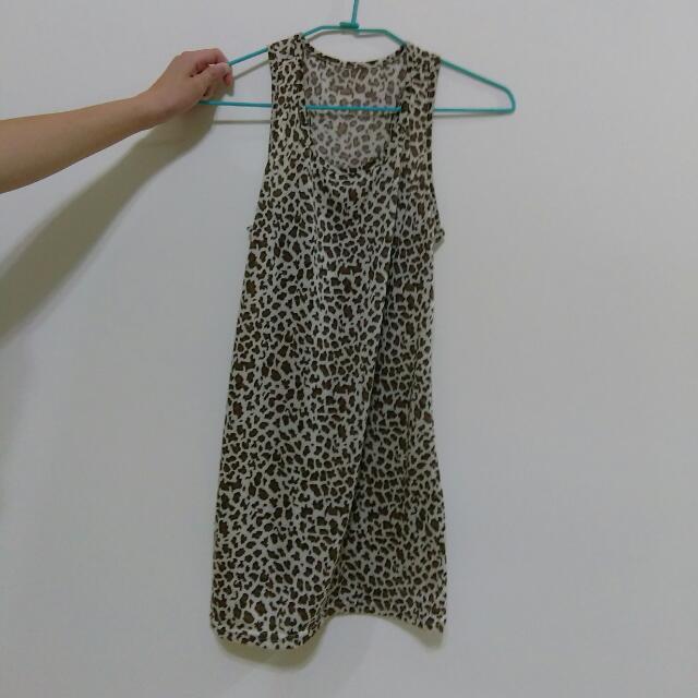 豹紋 長版上衣
