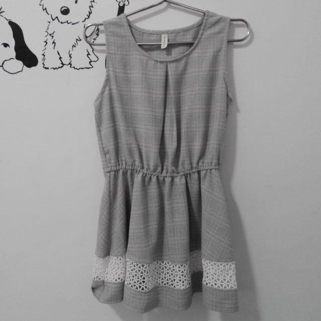 🔅全新/ 灰色洋裝 👗