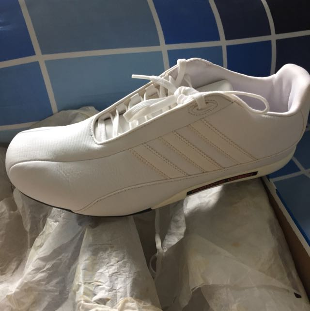 91bcd5cc7 Adidas Porsche Design S2 White Shoes