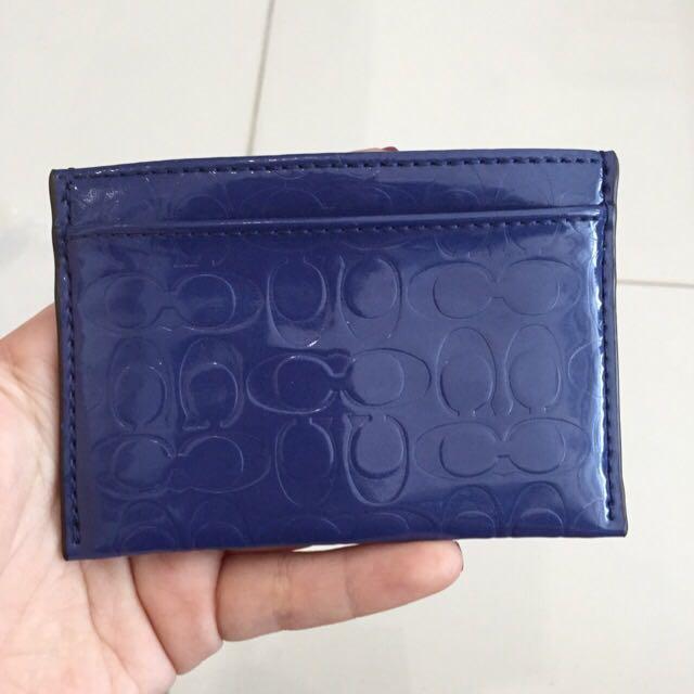 BN Coach card holder