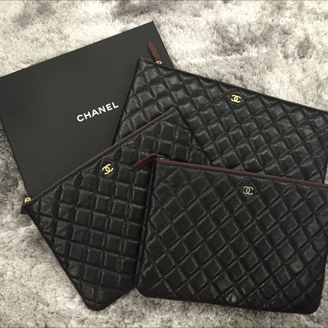 Chanel O Case (Large, Medium, Small) 0173255133, Luxury on Carousell 6ee39cbc44