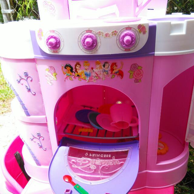 Disney Princess Play Kitchen, Babies & Kids on Carousell