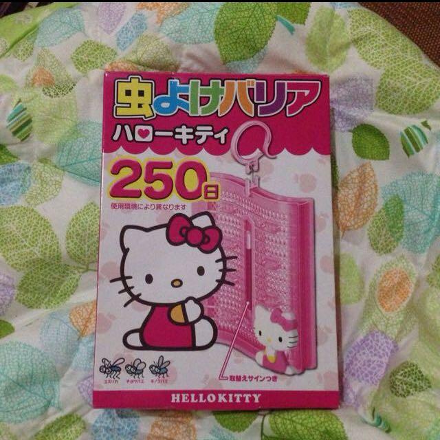 Hello Kitty 防蚊掛飾日本🇯🇵限定