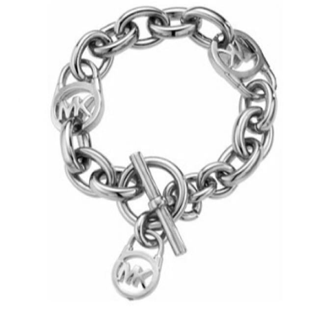 [INSTOCK] Michael Kors Logo-Lock Charm Bracelet