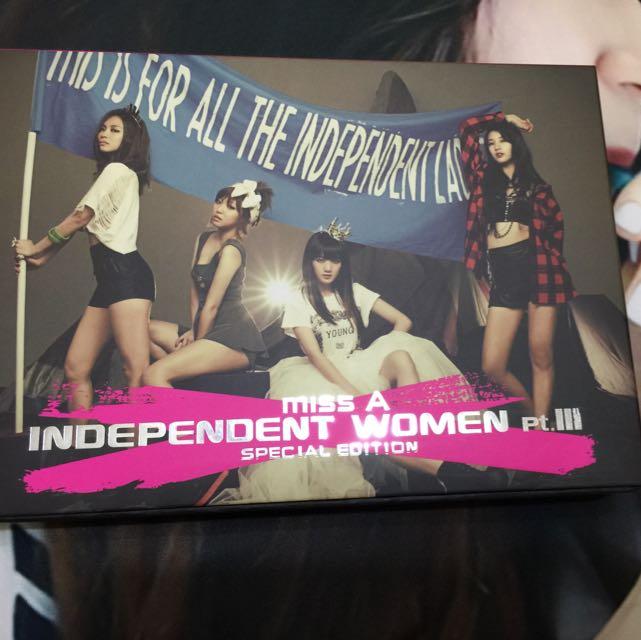 (降)Miss A Independent women官方特別版專輯