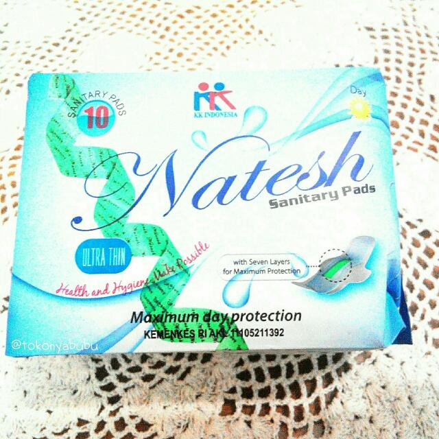 Natesh Sanitary Pad Day Use With Magnetic