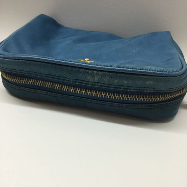 Used Prada Cosmetic Pouch