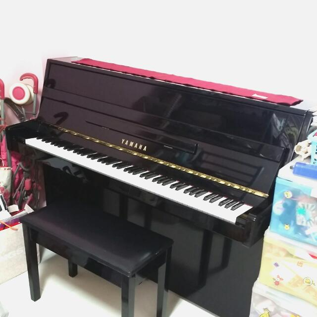 Sold Yamaha Lu 90 Pe Upright Acoustic Piano Music