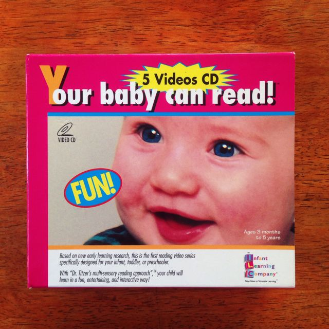 (Reserved) Your Baby Can Read VCDs