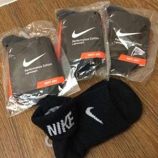Nike反摺襪三雙