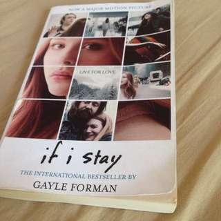 If I Stay By Gayle Forman!