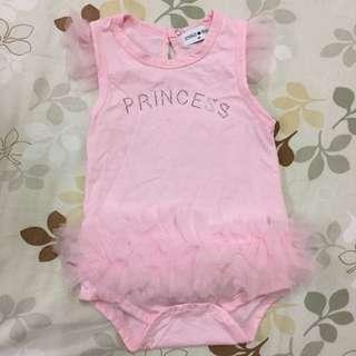 粉色公主包屁衣