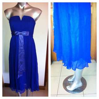 100% Silk Evening Gown