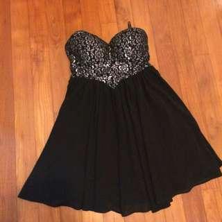 ❄️ Dotti Dipped Waist Tube Dress