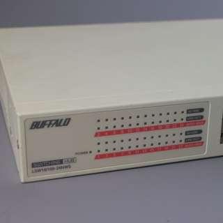 Buffalo 1000/100/10M 24埠集線器(LSW4-GT-24NSR)
