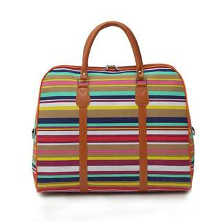 New Weekender/ Over Night Full Canvas Travel Bag