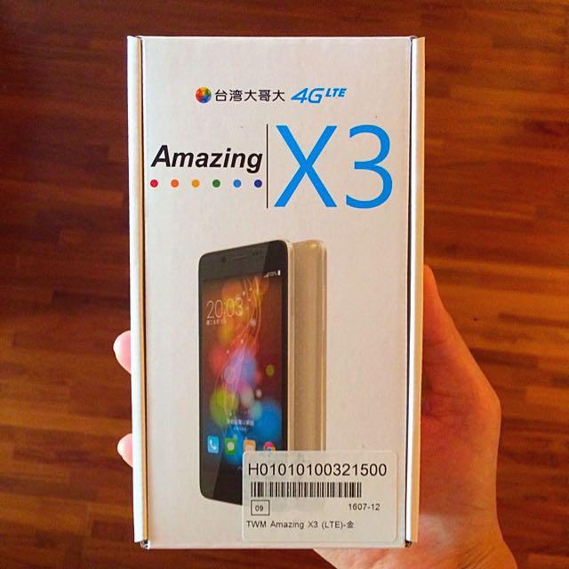 台灣大哥大4GLTE全頻智慧手機- Amazing X3